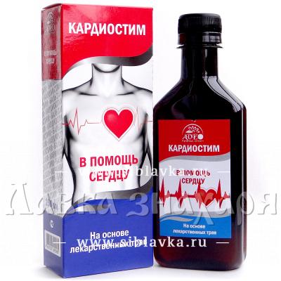 Алтайский бальзам для сердца «Кардиостим»