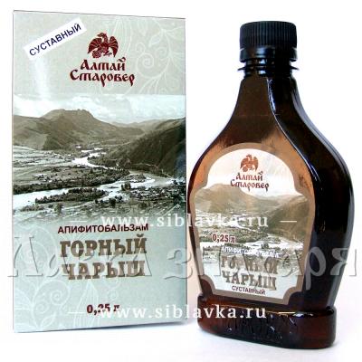 Алтайский бальзам для суставов «Горный Чарыш»