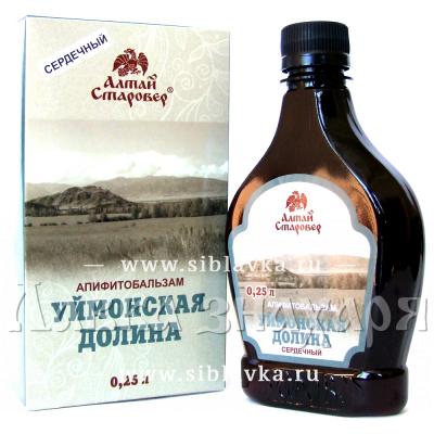 Алтайский бальзам для сердца «Уймонская долина»