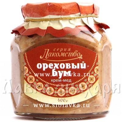 Крем-мед «Ореховый бум»