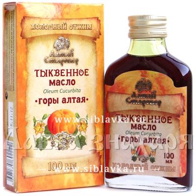 Тыквенное масло «Горы Алтая»