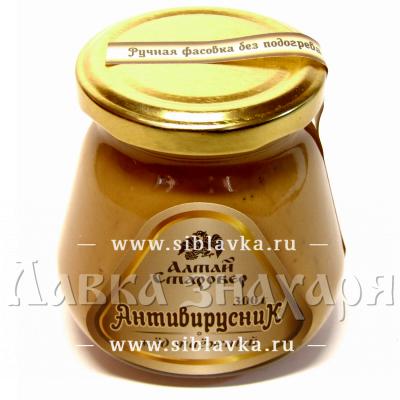Купить Медовая композиция «Антивирусник» противопростудная с черной смородиной, клюквой и солодкой