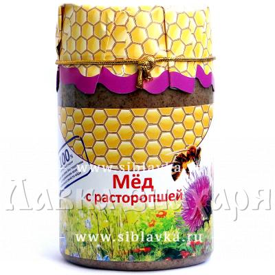 Купить Мед с расторопшей