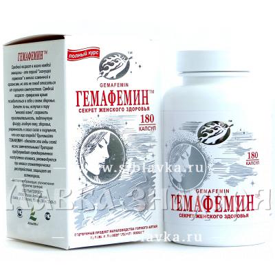 Купить БАД «Гемафемин» для женского здоровья