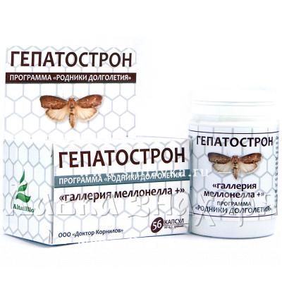 БАД «Гепатострон» для печени, желчного пузыря и поджелудочной железы