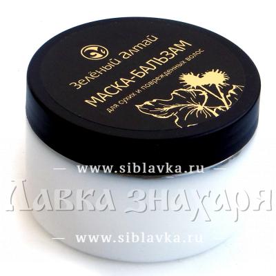 Маска-бальзам для сухих и поврежденных волос