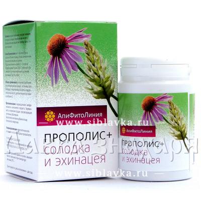 Купить Апифитокомплекс «Прополис + Солодка + Эхинацея» при простуде