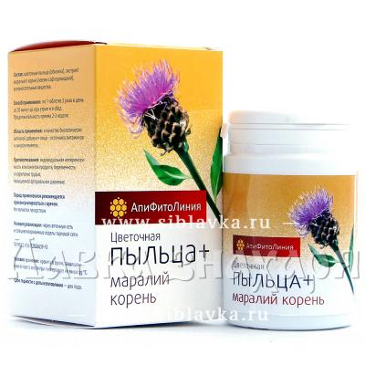 Купить Апифитокомплекс «Пыльца + Маралий корень» тонизирующий