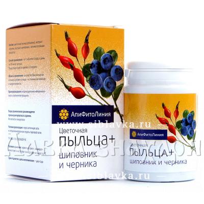 Апифитокомплекс «Пыльца + Шиповник + Черника» для зрения