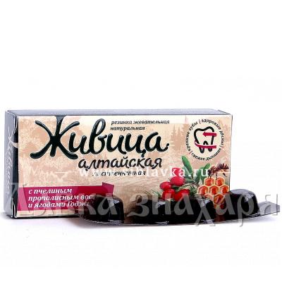 Купить Жевательная смолка «Живица Алтайская» с ягодами Годжи