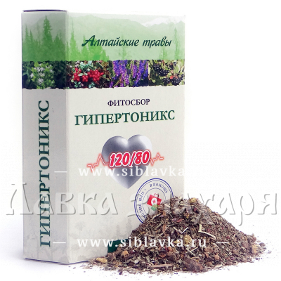 Купить Сбор трав «Гипертоникс» при гипертонии