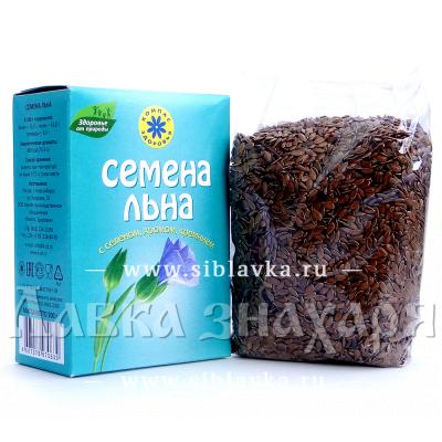 Купить Семена льна «Компас Здоровья» с селеном, хромом, кремнием