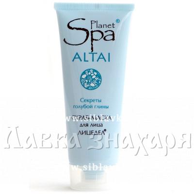 Скраб-маска для лица «Planet SPA ALTAI» Лицедел с голубой глиной