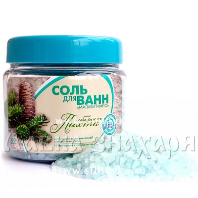 Соль для ванн «Малавит» Сибирская пихта