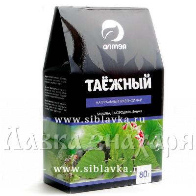 Травяной чай «Таёжный» (бадан, смородина, малина)