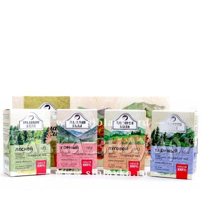 Набор травяных чаёв «Чайная коллекция» подарочный