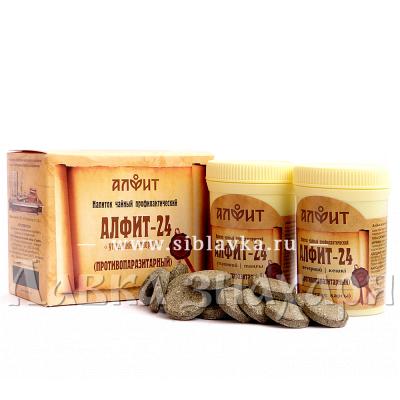 Купить Сбор трав «Алфит-24» противопаразитарный