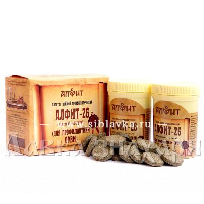 Купить Сбор трав «Алфит-26» при ОРВИ