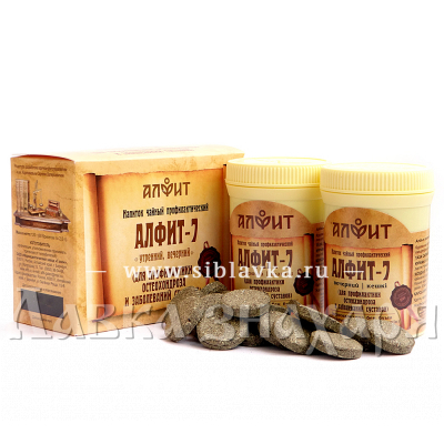 Сбор трав «Алфит-7» для суставов и позвоночника